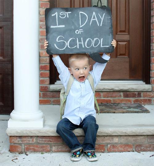 Resultado de imagen de primer dia de colegio