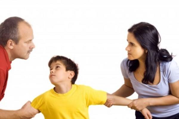 Nunca utilizar a los hijos en un divorcio