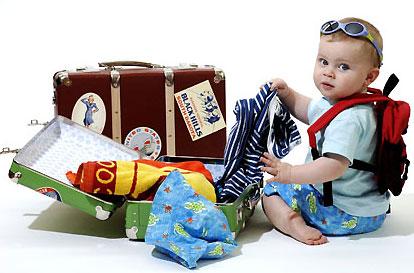 Consejos útiles para viajar con bebés